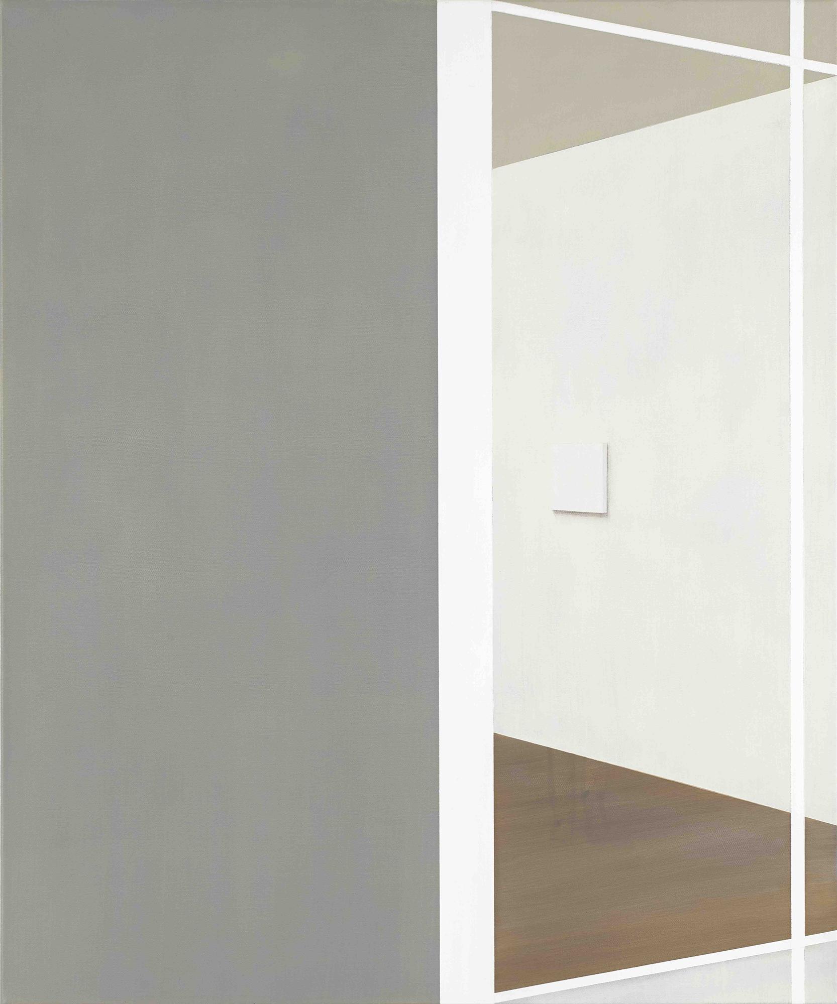 Tim Eitel, View into a Room (canvas), 2019, Öl auf Leinwand, 90 x 75 cm courtesy Galerie EIGEN + ART Leipzig/Berlin, Pace Gallery und Jousse Entreprise , VG Bild-Kunst, Bonn 2020 Foto: Jean-Louis Losi