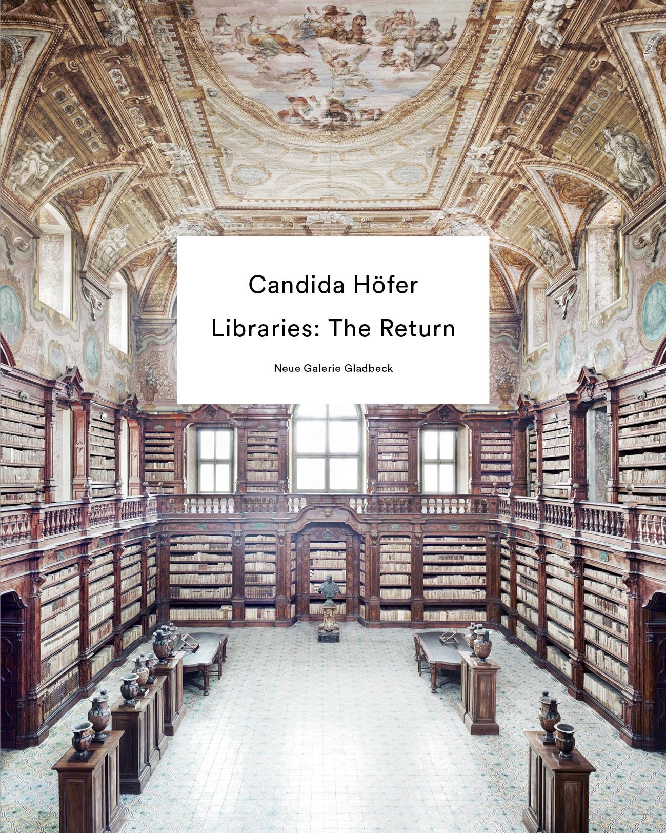Neuerscheinung: Candida Höfer. Libraries: The Return | VerlagKettler
