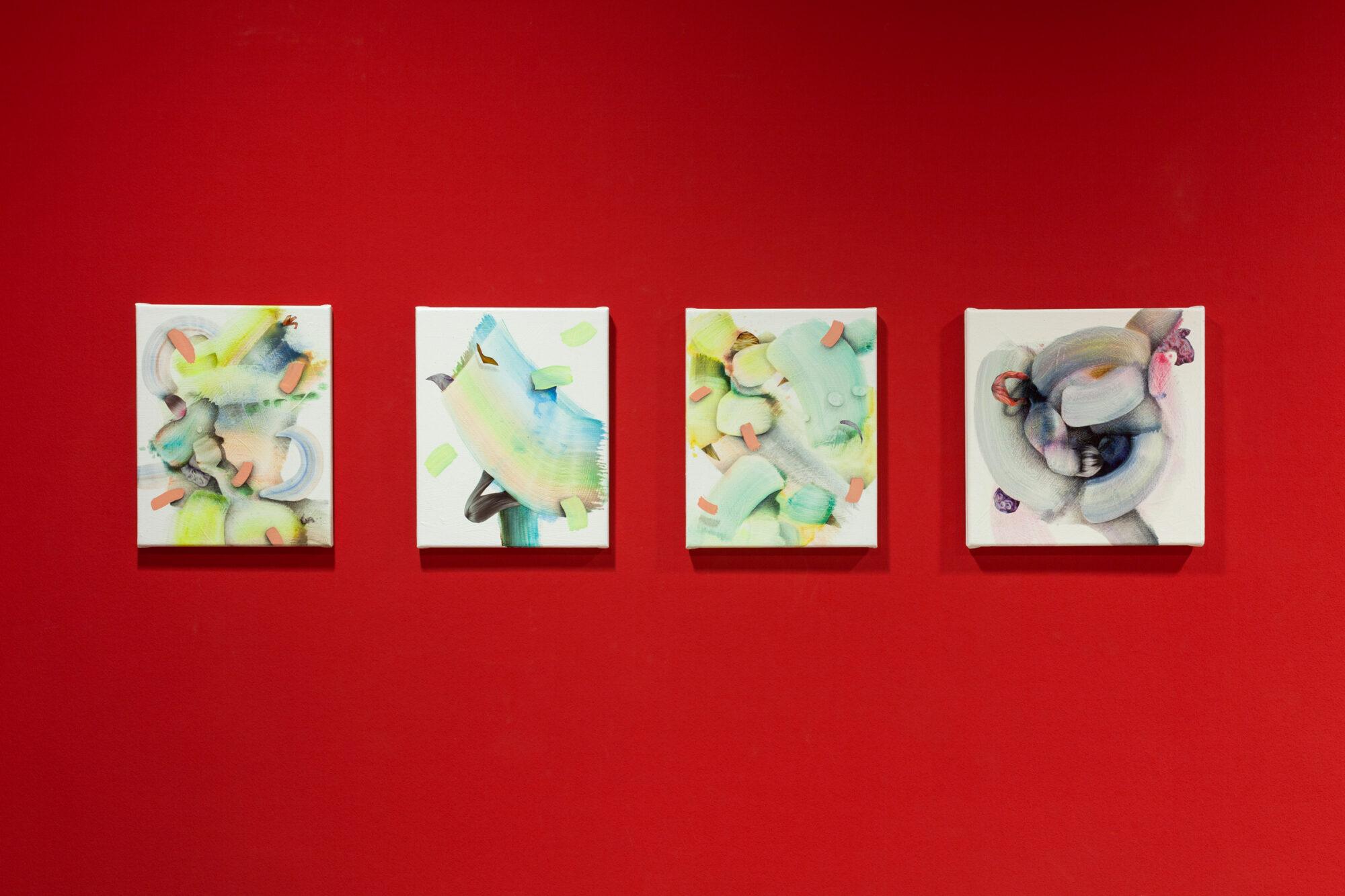 »morphing«, Johanna Flammer, Paul Schwer, Neue Galerie Gladbeck, 2020 © Hanne Brandt