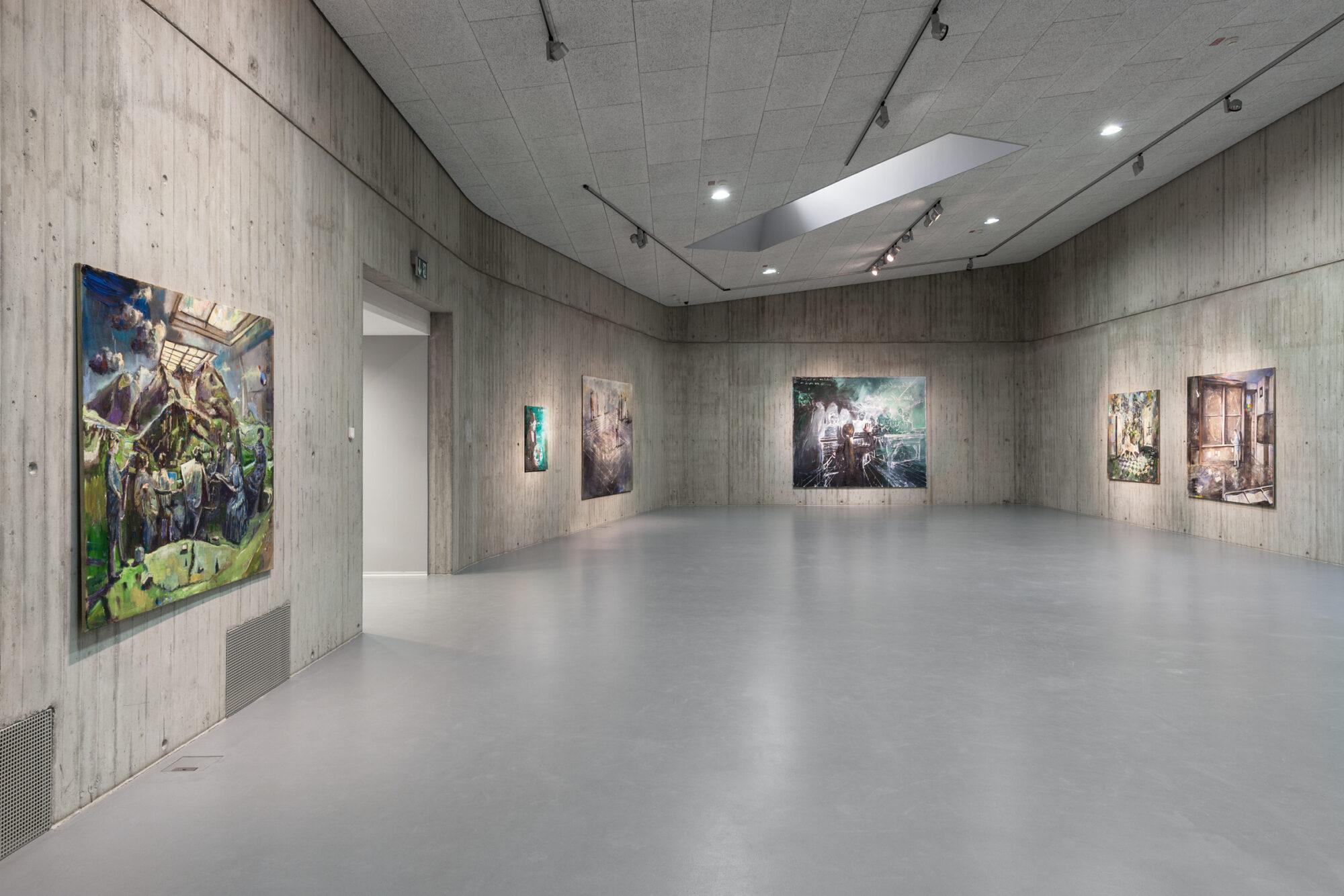 »Simone Lucas. Nachtland«, Neue Galerie Gladbeck, 2021 © Hanne Brandt